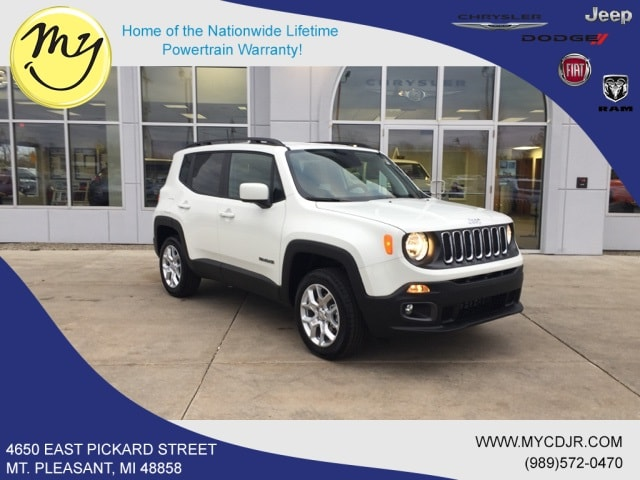 New 2018 Jeep Renegade LATITUDE 4X4 Sport Utility for sale in Mt Pleasant, MI