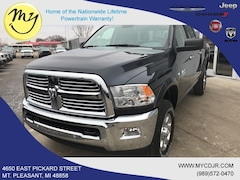 New 2018 Ram 2500 BIG HORN CREW CAB 4X4 6'4 BOX Crew Cab 3C6UR5DL6JG409634 for sale in Mt Pleasant, MI