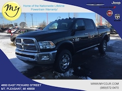 New 2018 Ram 2500 BIG HORN CREW CAB 4X4 6'4 BOX Crew Cab 3C6UR5DL4JG411981 for sale in Mt Pleasant, MI