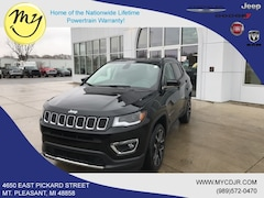 New 2019 Jeep Compass LIMITED 4X4 Sport Utility 3C4NJDCB5KT673993 for sale in Mt Pleasant, MI