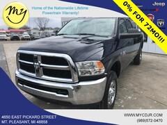New 2018 Ram 2500 TRADESMAN CREW CAB 4X4 8' BOX Crew Cab 3C6UR5HJ0JG404499 for sale in Mt Pleasant, MI
