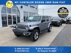 New 2020 Jeep Wrangler UNLIMITED SAHARA 4X4 Sport Utility for sale in Mt Pleasant, MI