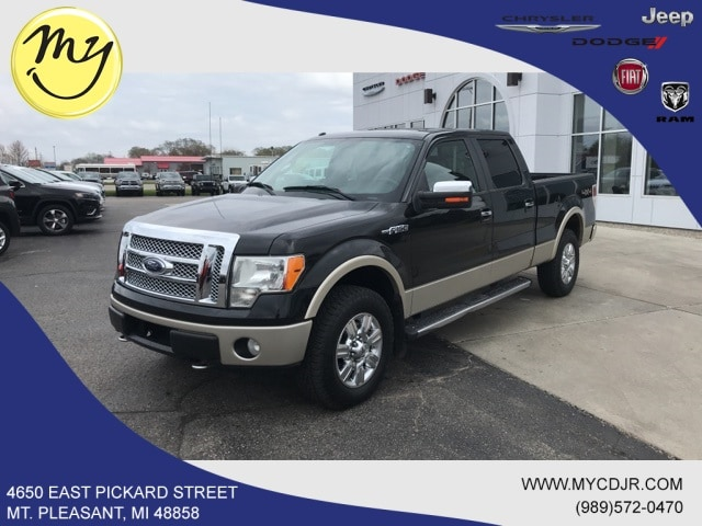 Featured Used 2010 Ford F-150 Truck SuperCrew Cab for sale in Mt. Pleasant, MI