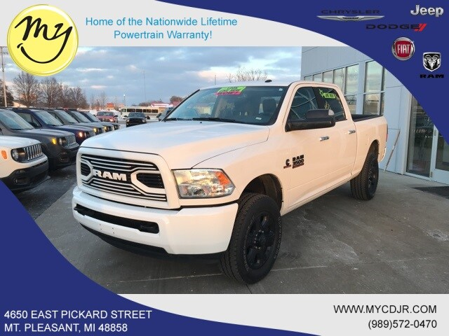 Featured 2018 Ram 3500 SLT Truck Crew Cab for sale in Mt. Pleasant, MI