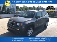 New 2018 Jeep Renegade LATITUDE 4X4 Sport Utility for sale in Mt Pleasant, MI