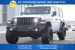 New 2020 Jeep Wrangler UNLIMITED WILLYS 4X4 Sport Utility for sale in Mt Pleasant, MI