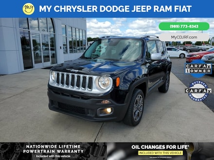Featured Used 2017 Jeep Renegade Limited 4x4 SUV for sale in Mt. Pleasant, MI
