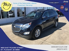Used 2017 Chevrolet Equinox LT SUV for sale in Mt Pleasant, MI