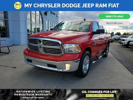 Featured Used 2017 Ram 1500 SLT Truck Crew Cab for sale in Mt. Pleasant, MI