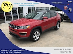 New 2019 Jeep Compass LATITUDE 4X4 Sport Utility 3C4NJDBB5KT812487 for sale in Mt Pleasant, MI