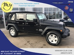 New 2018 Jeep Wrangler Unlimited WRANGLER JK UNLIMITED SPORT S 4X4 Sport Utility 1C4BJWDG5JL899387 for sale in Mt Pleasant, MI