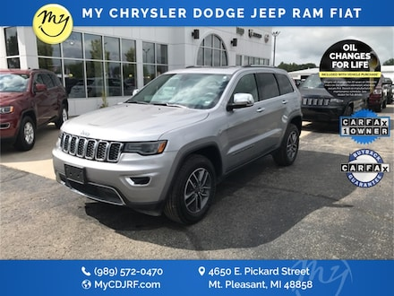 Featured Used 2019 Jeep Grand Cherokee Limited SUV for sale in Mt. Pleasant, MI