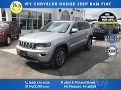 Certified Pre-Owned 2019 Jeep Grand Cherokee Limited SUV 1C4RJFBG9KC677597 for sale in Mt Pleasant, MI