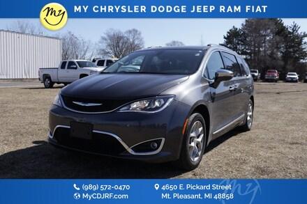 Featured Used 2019 Chrysler Pacifica Limited Van Passenger Van for sale in Mt. Pleasant, MI