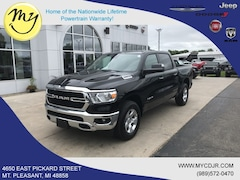 New 2019 Ram All-New 1500 BIG HORN / LONE STAR CREW CAB 4X4 5'7 BOX Crew Cab 1C6RRFFG1KN877226 for sale in Mt Pleasant, MI