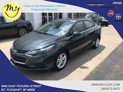Used 2017 Chevrolet Cruze LT Auto Sedan for sale in Mt Pleasant, MI