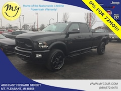 New 2018 Ram 3500 BIG HORN CREW CAB 4X4 8' BOX Crew Cab 3C63R3HJ7JG401633 for sale in Mt Pleasant, MI