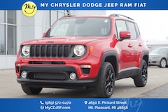 New 2020 Jeep Renegade ALTITUDE 4X4 Sport Utility for sale in Mt Pleasant, MI