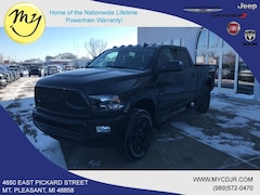 New 2018 Ram 2500 BIG HORN CREW CAB 4X4 6'4 BOX Crew Cab 3C6UR5DL9JG411555 for sale in Mt Pleasant, MI