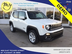 New 2018 Jeep Renegade LATITUDE 4X4 Sport Utility ZACCJBBB9JPJ33739 for sale in Mt Pleasant, MI