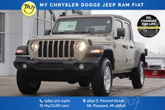 New 2020 Jeep Gladiator SPORT S 4X4 Crew Cab for sale in Mt Pleasant, MI
