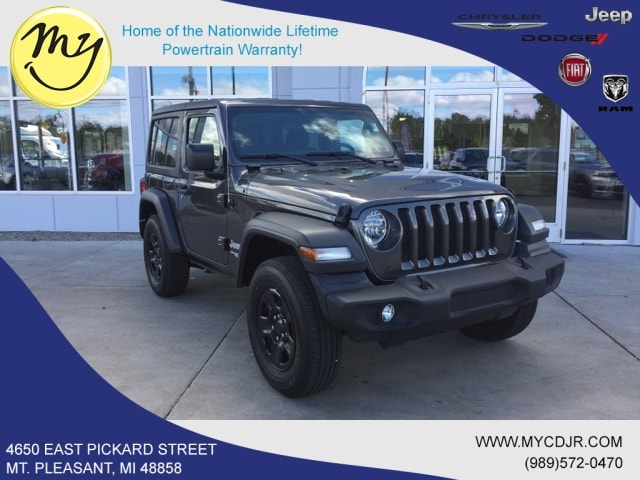 New 2018 Jeep Wrangler SPORT 4X4 Sport Utility for sale in Mt Pleasant, MI