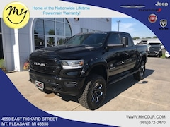 New 2019 Ram 1500 BIG HORN / LONE STAR CREW CAB 4X4 5'7 BOX Crew Cab 1C6SRFFT1KN857556 for sale in Mt Pleasant, MI