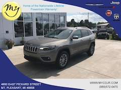 New 2019 Jeep Cherokee LATITUDE PLUS 4X4 Sport Utility 1C4PJMLB6KD468889 for sale in Mt Pleasant, MI