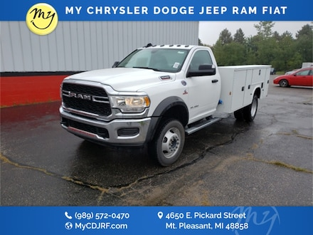 Featured New 2019 Ram 5500 Chassis Cab 5500 TRADESMAN CHASSIS REGULAR CAB 4X4 168.5 WB Regular Cab for sale in Mt. Pleasant, MI