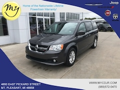Used 2018 Dodge Grand Caravan SXT Van Passenger Van for sale in Mt Pleasant, MI