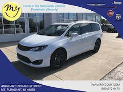 New 2019 Chrysler Pacifica TOURING L PLUS Passenger Van 2C4RC1EG8KR703042 for sale in Mt Pleasant, MI