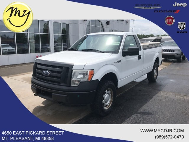 Featured Used 2011 Ford F-150 Truck Regular Cab for sale in Mt. Pleasant, MI