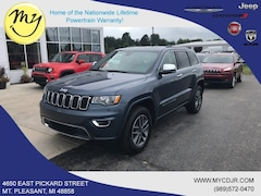 New 2019 Jeep Grand Cherokee LIMITED 4X4 Sport Utility 1C4RJFBGXKC819147 for sale in Mt Pleasant, MI