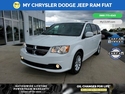 Featured Used 2019 Dodge Grand Caravan SXT Van Passenger Van for sale in Mt. Pleasant, MI