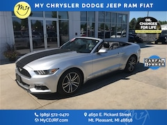 Used 2017 Ford Mustang EcoBoost Premium Convertible for sale in Mt Pleasant, MI