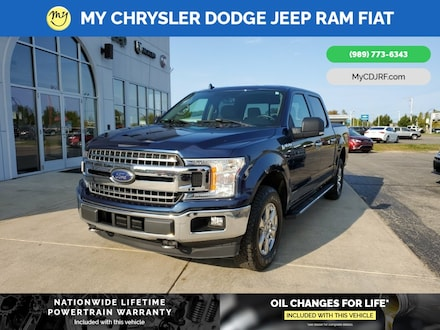 Featured Used 2018 Ford F-150 Truck SuperCrew Cab for sale in Mt. Pleasant, MI