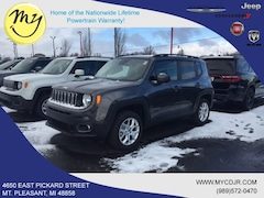 New 2018 Jeep Renegade LATITUDE 4X4 Sport Utility ZACCJBBB6JPJ52250 for sale in Mt Pleasant, MI