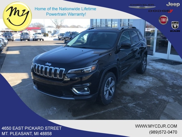 New 2019 Jeep Cherokee LIMITED 4X4 Sport Utility for sale in Mt Pleasant, MI