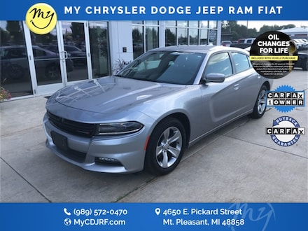 Featured Used 2018 Dodge Charger SXT Plus Sedan for sale in Mt. Pleasant, MI