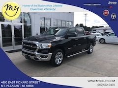 New 2019 Ram All-New 1500 BIG HORN / LONE STAR CREW CAB 4X4 5'7 BOX Crew Cab 1C6SRFFT6KN733444 for sale in Mt Pleasant, MI