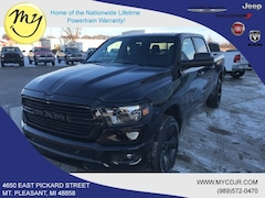 New 2019 Ram 1500 BIG HORN / LONE STAR CREW CAB 4X4 5'7 BOX Crew Cab 1C6SRFFT5KN768296 for sale in Mt Pleasant, MI