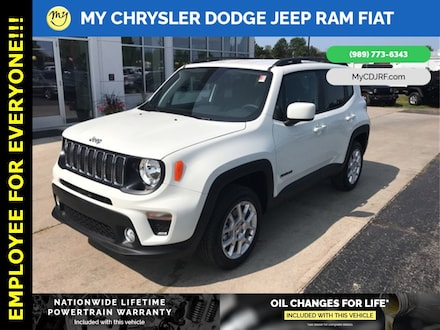 Featured New 2019 Jeep Renegade LATITUDE 4X4 Sport Utility for sale in Mt. Pleasant, MI