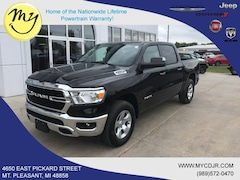New 2019 Ram 1500 BIG HORN / LONE STAR CREW CAB 4X4 5'7 BOX Crew Cab 1C6SRFFT5KN877227 for sale in Mt Pleasant, MI