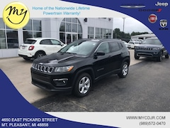 New 2019 Jeep Compass LATITUDE FWD Sport Utility 3C4NJCBB6KT855083 for sale in Mt Pleasant, MI