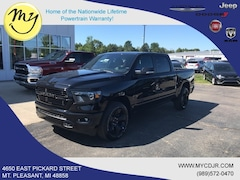 New 2019 Ram All-New 1500 BIG HORN / LONE STAR CREW CAB 4X4 5'7 BOX Crew Cab 1C6RRFFG6KN908809 for sale in Mt Pleasant, MI