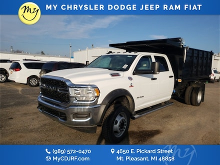 Featured New 2019 Ram 5500 Chassis Cab 5500 TRADESMAN CHASSIS CREW CAB 4X4 197.4 WB Crew Cab for sale in Mt. Pleasant, MI