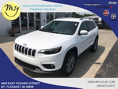 New 2019 Jeep Cherokee LATITUDE PLUS 4X4 Sport Utility 1C4PJMLB0KD468886 for sale in Mt Pleasant, MI