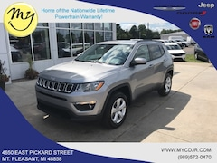 New 2019 Jeep Compass LATITUDE 4X4 Sport Utility 3C4NJDBB7KT849797 for sale in Mt Pleasant, MI