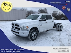 New 2018 Ram 3500 SLT CREW CAB CHASSIS 4X4 172.4 WB Crew Cab 3C7WRTCL0JG424110 for sale in Mt Pleasant, MI