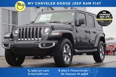 New 2020 Jeep Wrangler UNLIMITED SAHARA 4X4 Sport Utility for sale in Mt Pleasant, MI